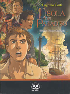 Copertina ISOLA DEL PARADISO n. - ISOLA DEL PARADISO, RENOIR