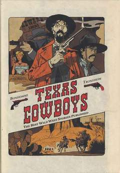Copertina TEXAS COWBOYS n.1 - THE BEST WILD WEST STORIES PUBLISHED, RENOIR
