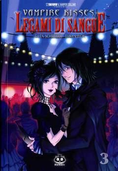 Copertina VAMPIRE KISSES (m3) n.3 - LEGAMI DI SANGUE, RENOIR