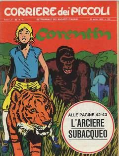 Copertina CORRIERE DEI PICCOLI 1968 n.16 - CORRIERE DEI PICCOLI 1968   16, RIZZOLI LIBRI