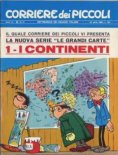 Copertina CORRIERE DEI PICCOLI 1968 n.17 - CORRIERE DEI PICCOLI 1968   17, RIZZOLI LIBRI