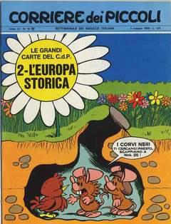 Copertina CORRIERE DEI PICCOLI 1968 n.18 - CORRIERE DEI PICCOLI 1968   18, RIZZOLI LIBRI