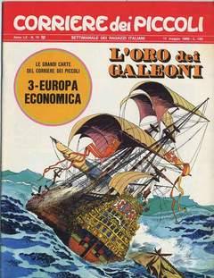 Copertina CORRIERE DEI PICCOLI 1968 n.19 - CORRIERE DEI PICCOLI 1968   19, RIZZOLI LIBRI