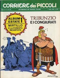 Copertina CORRIERE DEI PICCOLI 1968 n.27 - CORRIERE DEI PICCOLI 1968   27, RIZZOLI LIBRI