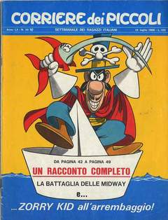 Copertina CORRIERE DEI PICCOLI 1968 n.28 - CORRIERE DEI PICCOLI 1968   28, RIZZOLI LIBRI