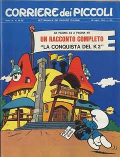 Copertina CORRIERE DEI PICCOLI 1968 n.30 - CORRIERE DEI PICCOLI 1968   30, RIZZOLI LIBRI