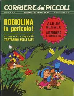 RIZZOLI LIBRI - CORRIERE DEI PICCOLI 1968