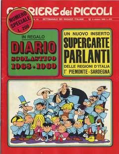 Copertina CORRIERE DEI PICCOLI 1968 n.40 - CORRIERE DEI PICCOLI 1968   40, RIZZOLI LIBRI