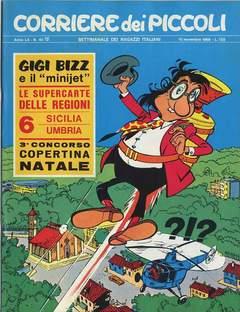 Copertina CORRIERE DEI PICCOLI 1968 n.45 - CORRIERE DEI PICCOLI 1968   45, RIZZOLI LIBRI