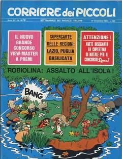 Copertina CORRIERE DEI PICCOLI 1968 n.46 - CORRIERE DEI PICCOLI 1968   46, RIZZOLI LIBRI