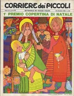 Copertina CORRIERE DEI PICCOLI 1968 n.52 - CORRIERE DEI PICCOLI 1968   52, RIZZOLI LIBRI