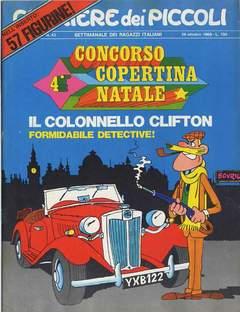 Copertina CORRIERE DEI PICCOLI 1969 n.43 - CORRIERE DEI PICCOLI 1969   43, RIZZOLI LIBRI