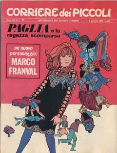 Copertina CORRIERE DEI PICCOLI 1969 n.1 - CORRIERE DEI PICCOLI 1969    1, RIZZOLI LIBRI