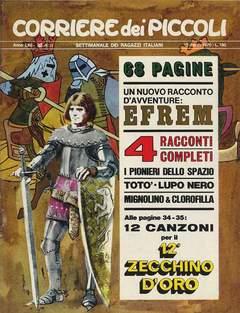 Copertina CORRIERE DEI PICCOLI 1970 n.11 - CORRIERE DEI PICCOLI 1970   11, RIZZOLI LIBRI