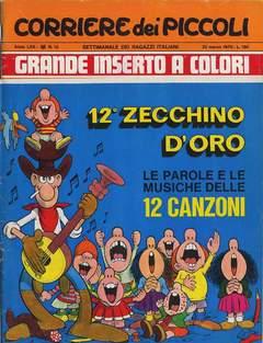 Copertina CORRIERE DEI PICCOLI 1970 n.12 - CORRIERE DEI PICCOLI 1970   12, RIZZOLI LIBRI