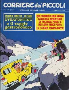 Copertina CORRIERE DEI PICCOLI 1970 n.18 - CORRIERE DEI PICCOLI 1970   18, RIZZOLI LIBRI
