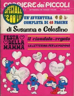Copertina CORRIERE DEI PICCOLI 1970 n.19 - CORRIERE DEI PICCOLI 1970   19, RIZZOLI LIBRI