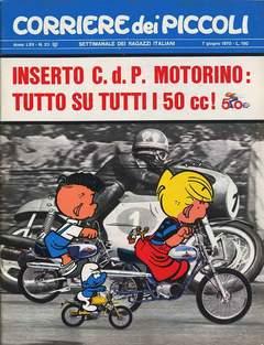 Copertina CORRIERE DEI PICCOLI 1970 n.23 - CORRIERE DEI PICCOLI 1970   23, RIZZOLI LIBRI