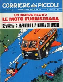 Copertina CORRIERE DEI PICCOLI 1970 n.25 - CORRIERE DEI PICCOLI 1970   25, RIZZOLI LIBRI
