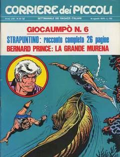 Copertina CORRIERE DEI PICCOLI 1970 n.33 - CORRIERE DEI PICCOLI 1970   33, RIZZOLI LIBRI