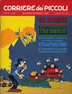 Copertina CORRIERE DEI PICCOLI 1970 n.5 - CORRIERE DEI PICCOLI 1970    5, RIZZOLI LIBRI