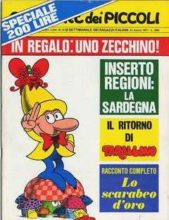 Copertina CORRIERE DEI PICCOLI 1971 n.12 - CORRIERE DEI PICCOLI 1971   12, RIZZOLI LIBRI