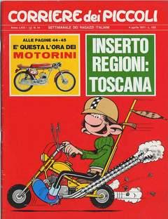 Copertina CORRIERE DEI PICCOLI 1971 n.14 - CORRIERE DEI PICCOLI 1971   14, RIZZOLI LIBRI