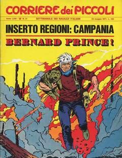 Copertina CORRIERE DEI PICCOLI 1971 n.21 - CORRIERE DEI PICCOLI 1971   21, RIZZOLI LIBRI