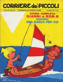 Copertina CORRIERE DEI PICCOLI 1971 n.26 - CORRIERE DEI PICCOLI 1971   26, RIZZOLI LIBRI