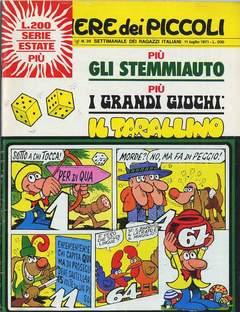 Copertina CORRIERE DEI PICCOLI 1971 n.28 - CORRIERE DEI PICCOLI 1971   28, RIZZOLI LIBRI