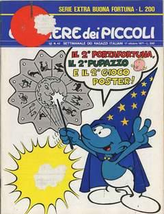 Copertina CORRIERE DEI PICCOLI 1971 n.42 - CORRIERE DEI PICCOLI 1971   42, RIZZOLI LIBRI