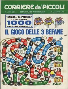 Copertina CORRIERE DEI PICCOLI 1971 n.2 - CORRIERE DEI PICCOLI 1971    2, RIZZOLI LIBRI