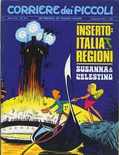 Copertina CORRIERE DEI PICCOLI 1971 n.4 - CORRIERE DEI PICCOLI 1971    4, RIZZOLI LIBRI