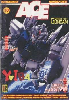 Copertina ACE n.10 - GUNDAM, ROCK'N' COMICS