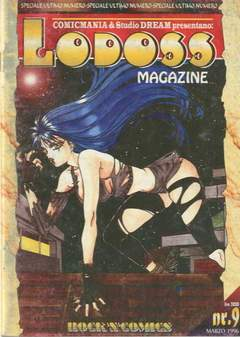 ROCK'N' COMICS - LODOSS MAGAZINE 2 SERIE