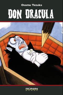 Copertina MANGA NOSTALGIA n.2 - DON DRACULA, RONIN MANGA