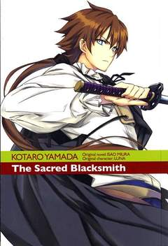Copertina SACRED BLACKSMITH n.2 - THE SACRED BLACKSMITH, RONIN MANGA