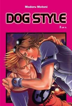 Copertina YAOI n.3 - DOG STYLE, RONIN MANGA