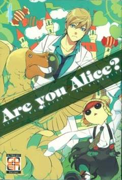 Copertina ARE YOU ALICE? n.4 - ARE YOU ALICE?, RW GOEN