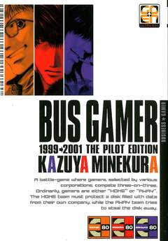 Copertina BUS GAMER n.1 - BUS GAMER, RW GOEN