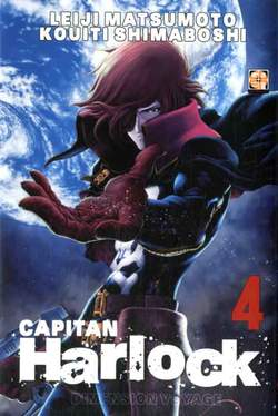 Copertina CAPITAN HARLOCK DIMENSION...m5 n.4 - CAPITAN HARLOCK DIMENSION VOYAGE, RW GOEN