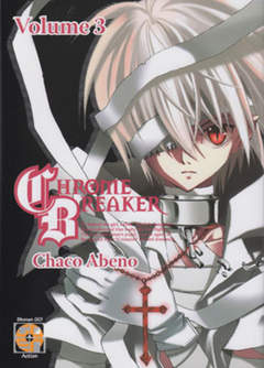 Copertina CHROME BREAKER (m4) n.3 - CHROME BREAKER, RW GOEN