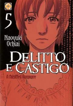 Copertina DELITTO E CASTIGO (m10) n.5 - DELITTO E CASTIGO A FALSIFIED ROMANCE, RW GOEN