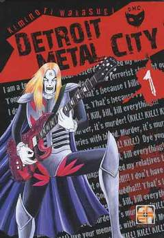 Copertina DETROIT METAL CITY (m10) n.1 - DETROIT METAL CITY, RW GOEN