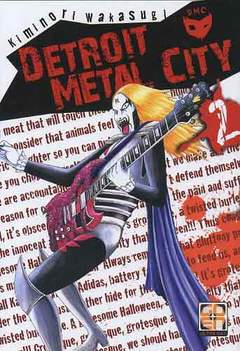 Copertina DETROIT METAL CITY (m10) n.2 - DETROIT METAL CITY, RW GOEN