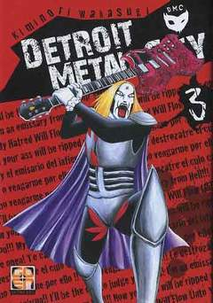 Copertina DETROIT METAL CITY (m10) n.3 - DETROIT METAL CITY, RW GOEN