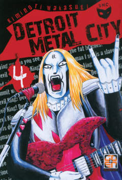 Copertina DETROIT METAL CITY (m10) n.4 - DETROIT METAL CITY, RW GOEN