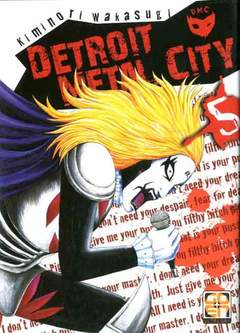 Copertina DETROIT METAL CITY (m10) n.5 - DETROIT METAL CITY, RW GOEN
