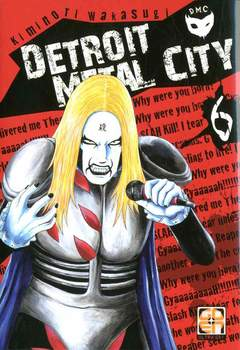 Copertina DETROIT METAL CITY (m10) n.6 - DETROIT METAL CITY, RW GOEN