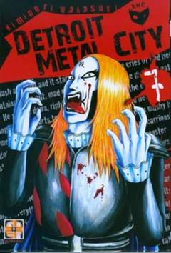 Copertina DETROIT METAL CITY (m10) n.7 - DETROIT METAL CITY, RW GOEN